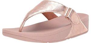 FitFlop Women's Sarna - Shock Absorbing Comfort Flip Flop
