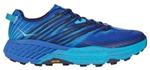 Hoka One Men's Speedgoat 4 - Trail Shoe for Morton's Neuroma