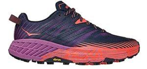 Hoka One Women's Speedgoat 4 - Trail Shoe for Morton's Neuroma