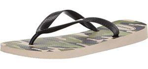 Havaianas Men's Camo - Comfortable Flip Flop