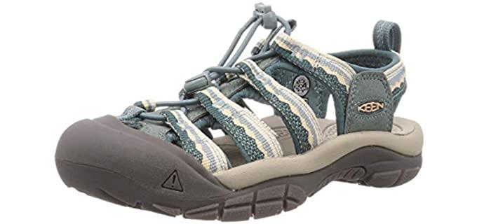 Keen Women's Newport H2 - Sporty Sandal for Cracked Heels