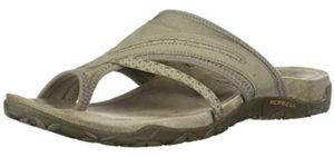 Merrell Women's Terran Post - Vibram Soled Sandals