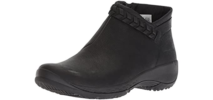 Merrell Women's Encore Braided Bluff Q2 - Comfortable Ankle Boots for Walking