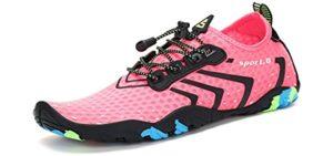 Mishansha Women's Quick-Dry - Snorkeling Minimalist Water Shoes