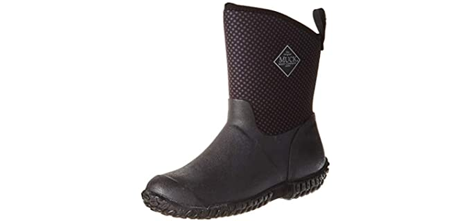 Muck Boots Women's Muckster 2 - Professional Ankle Gardening Boots