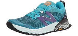 New Balance Women's Fresh Foam Hierro V6 - Trail Shoe for Knee Pain