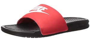 Nike Men's Benassi - Wedge Summer Sandal