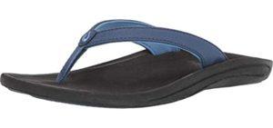 Olukai Women's Kulapa Kai - Comfortable Beach Flip Flop Sandal