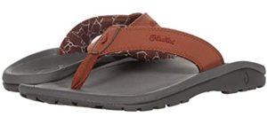 Olukai Men's Ohana - Flip Flop Sandal for Comfort