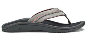 Olukai Men's Hokua - Comfortable Beach Flip Flop Sandal