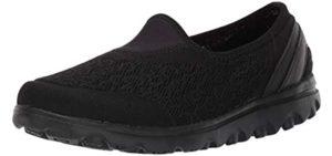 Propet Women's Travelactiv - Slip On Walking Shoe for Arthritis