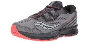 Saucony Women's Zealot ISO 3 - Metatarsalgia Running Shoe