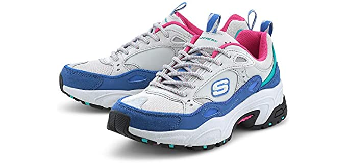 Skechers Women's Stamina Creek - Extended Width Shoes