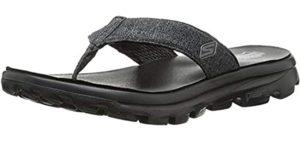 Skechers Women's Go Walk Solstice - Comfortable Flip Flops