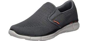 Skechers Men's Equalizer - Plantar Fasciitis Walking Shoes