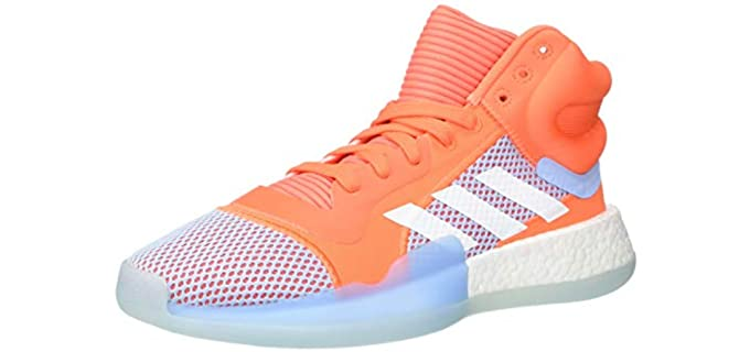 Adidas Men's Marquee Boost - Low Basketball Shoes