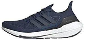 Adidas Men's Ultraboost 21 - Adidas Narrow Running Shoes