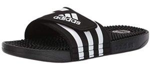 Adidas Women's Adissage - Adidas Sandal for Narrow Feet
