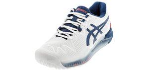 Asics Men's Gel Resolution 8 - Shoes for Achilles Tendonitis
