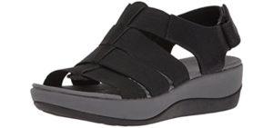 Clarks Women's Arla Shaylie - Casual Shoe for Achilles Tendinitis