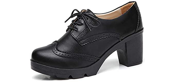 Dadawen Women's Oxford - Italian Shoe