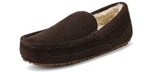 Dream Pairs Men's Au-Loafer - Slipper for the Elderly