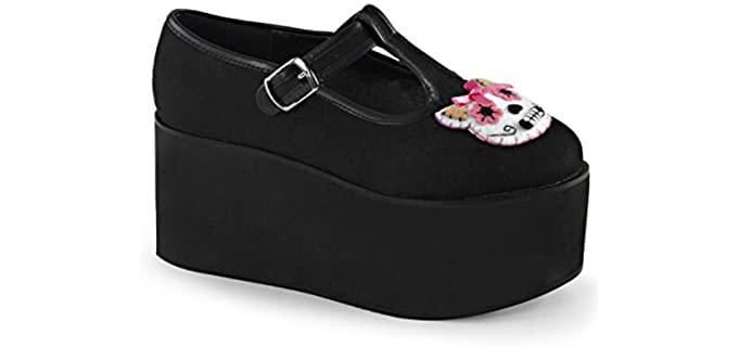 Demonia Women's Click - Goth Shoes