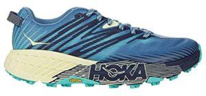 Hoka One Women's Speedgoat 4 - Bunion Trail Running Shoe