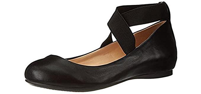 Jessica Simpson Women's Mandayss - Narrow Heel Ballet Flat Shoes