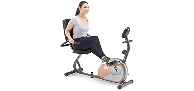 Marcy 's Recumbent - Stationary Bike for The Elderly