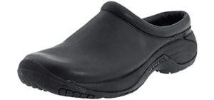 Merrell Men's Encore Gust - Slip Resistant Work Shoe for Concrete Surfaces