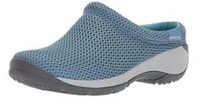 Merrell Women's Encore - Slip Resistant Work Shoe for Concrete Surfaces