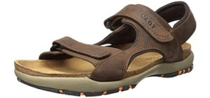 NAOT Men's Electric - Sandals with a Cork Footbed