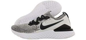 Nike Men's Epic React Flyknit - Sleek Knit Sneakers