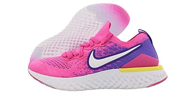 Nike Women's Epic React Flyknit 2 - Overweight Walking Shoes