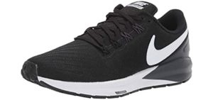 Nike Women's Air Zoom Structure 24 - Walking and Running Shoe for Flat Feet