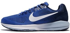 Nike Men's Air Zoom Structure 24 - Walking and Running Shoe for Flat Feet