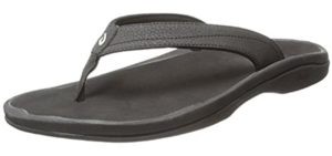 Olukai Women's Ohana - Flip Flop for Peroneal Tendinitis