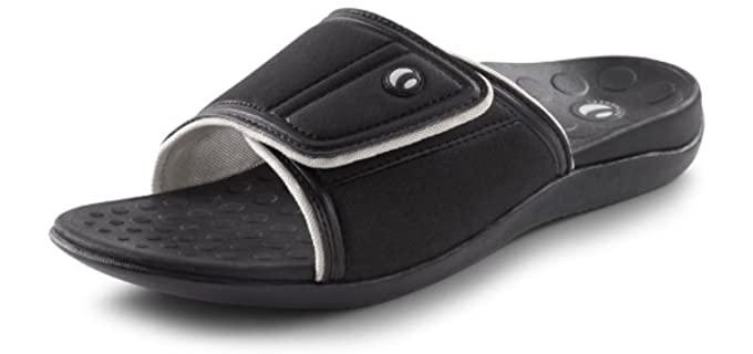 Vionic Women's Kiwi - Sandal for Swollen Feet