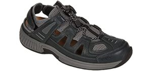 Orthofeet Men's Alpine -  Orthopedic Shoes for Knee Problems