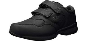 Propet Men's LifeWalker - Walking Shoe with Velcro Straps for Seniors