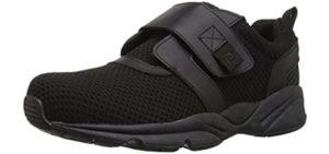Propet Men's Stability X Strap - Velcro Shoes for Seniors