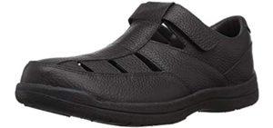 Propet Men's Bayport - Velcro Sandal for Seniors