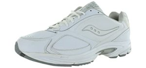 Saucony Men's Grid Omni Walker - Shock Absorbing Walking Shoe