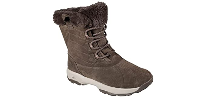 Skechers Women's Go walk Outdoor Chilly - Women's Winter Hiking Boot
