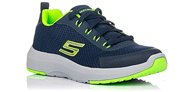 Skechers Women's Kid's Dynamic Tread - Hiking Shoes for Young ladies