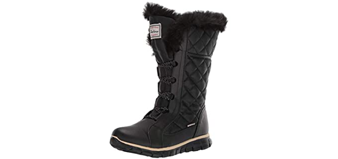 Skechers Women's Synergy Real-Eastate - Snow & Ice Hiking Boots