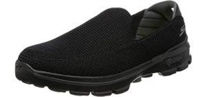 Skechers Go Walk Men's Performance Go Walk - Skechers Lace-Less Shoe