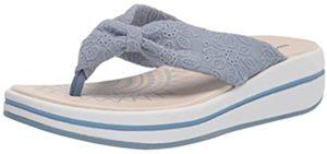 Skechers Women's Upgrades - Memory Foam Flip Flops