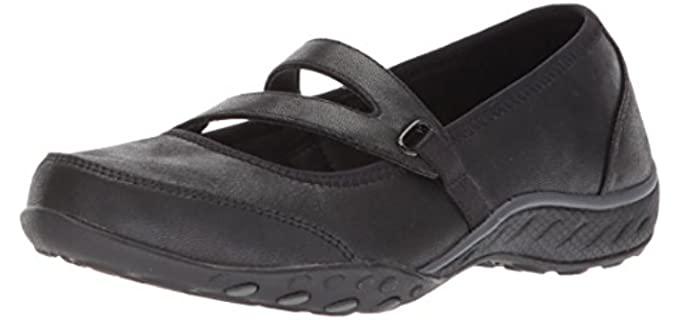 Skechers Women's Breathe EasyCalmly - Hammertoe Athletic Dress Shoe